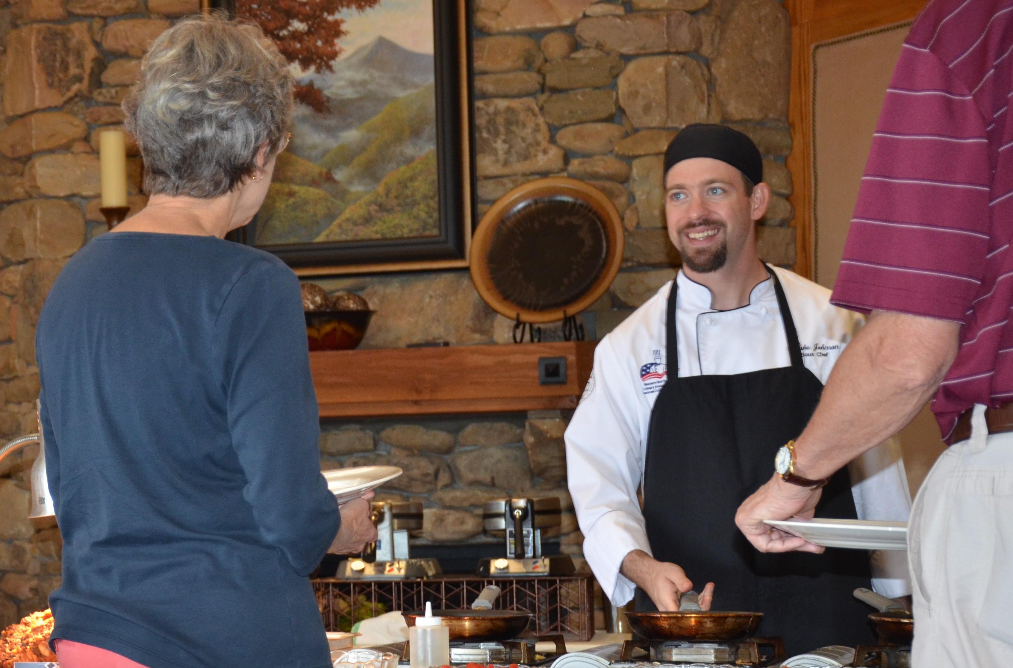 Blake Johnson Executive Chef at Champion Hills